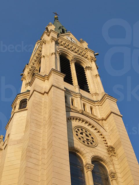 Veža kostola Blumentál
