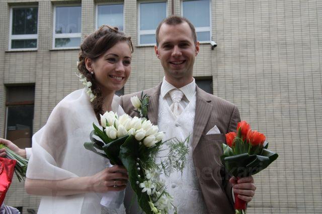 Peťo a Mary - zatiaľ slečna Králiková a pán Zajíček