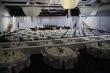 Expo Aréna nachystaná na ple - všetky stoly nachystané, pódium pripravené, plesová sezóna v Bratislave pokračuje