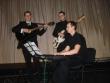 Kapela na plese - v rámci programu vystúpil Andrea Bocelli a Christina Aguilera v podaní našich spevákov