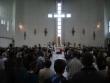 Kostol Martin Sever - omša pred Gospelfestom Mária