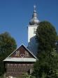 Kostolík s chalúpkou - Čičmany