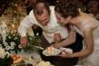 Krájanie torty - Peťo s Mary