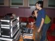 Majstri zvuku a svetiel - hlavný zvukár Janek a pomocný Miško