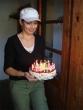 Pozor, aby nezhasli - Tanishka urobila výbornú smotanovú tortu