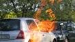 Príprava na grilovanie - treba si rozmyslieť, kam zaparkovať svoje auto :)
