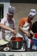 Pripravuje sa hlavné jedlo