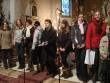 spevácky zbor z Dubovej - Vystúpenie zboru z Dubovej na benefičnom koncerte