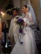 svadba v kostole - Sobáš, mladomanželia idú podpisovať zápisnicu