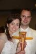 Svadobný dar krížik