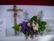 Svadobný kríž - Ja Andrej beriem si teba Tánishka za svoju manželku...