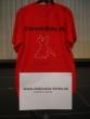 tričko do tomboly - maľované tričko blumentálsky ples do tomboly