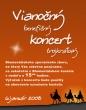 Vianočný koncert 6.1.2008 - Plagátik pre vianočný benefičný koncert Blumentálskeho speváckeho zboru