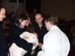 vysušíme hlavičku - Miško celý krst prespal, ani mu nevadila voda a ani utieranie