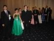 zbor pred polonézou - Nastúpený zbor pred otvorením plesu - budeme tancovať polonézu